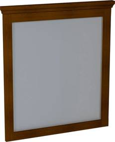 Zrkadlo Sapho Cross 70x80 cm Mahagon CR012