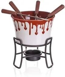 BANQUET Sada fondue na čokoládu CHOCO DARK, 6 ks