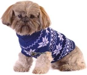 PETOP Pletený sveter pre psov KIKO M
