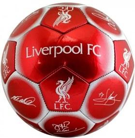 Futbalová lopta FC LIVERPOOL Signature (veľkosť 5) FC LIVERPOOL LIV1685