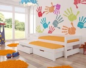 Štýlová detská rozkladacia posteľ Lily 05