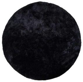 Florida koberec čierny okrúhly