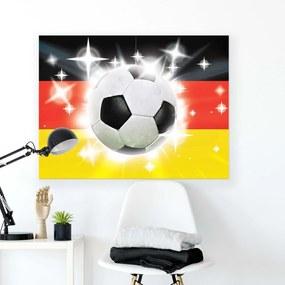 GLIX Obraz na plátne - Football Ball with Stripes II 100x75 cm