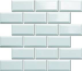 Keramická mozaika Premium Mosaic biela 30x30 cm lesk MOS4595WH