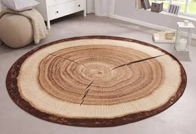 Hanse Home Collection koberce AKCE: 100x100 cm Protiskluzový kusový koberec BASTIA SPECIAL 101175 - 100x100 kruh cm