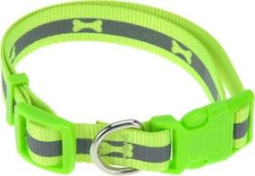 Obojok pre psa Neon zelená, veľ. M , M