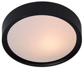 Lucide 08109/01/30 Moderné stropné svietidlo LEX E27, 9W, IP20, čierna