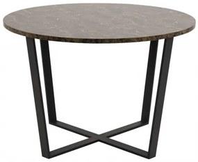 AMBLE jedálenský stôl Hnedá