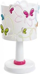 Dalber Butterfly 62141 Detské Svietidlá viacfarebné plast 1xE14 max. 40W