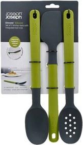 Sivo-zelená sada 3 nástrojov Joseph Joseph Elevate Silicone