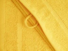 Dobrý Textil Malý uterák Economy 30x50 - Hnědá | 30 x 50 cm
