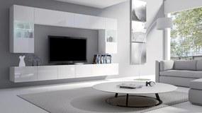 Dizajnová obývacia stena Aries biela
