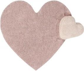 lovel.sk Koberec srdce Puffy Love Nude 160x180