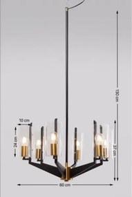 KARE DESIGN Závesná lampa Wizard Round