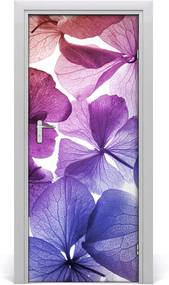 Fototapeta na dvere  fialové kvety