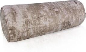 Valcový vankúš marmur - 15x45cm