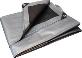 Bestent Krycia plachta strieborno - čierna 2x4 m 260 g/m2