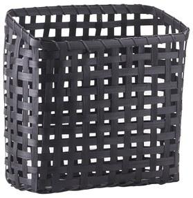HOUSE DOCTOR Sada 4 ks − Čierny kôš Cube