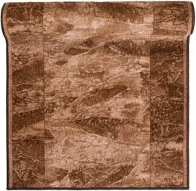 Behúň Sardis tmavo hnedý, Šířky běhounů 80 cm