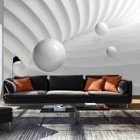 Fototapeta Bimago - White Symmetry + lepidlo zadarmo 250x175 cm