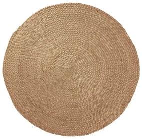 Prírodný jutový koberec Dip, ⌀ 100 cm