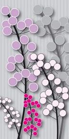 Dimex fototapeta Šedofialová rastlina S-335   110 x 220 cm
