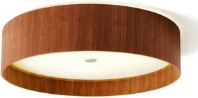 Lara wood – stropné LED svietidlo orech 55cm