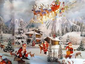 Vianočný Obrus PVC 100 x 140