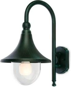 REDO OUTDOOR VARESE 9791 Vonkajšie nástenné zelené patina