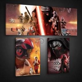 Obraz na plátne viacdielny - OB2659 - Star Wars 80cm x 68cm - S16