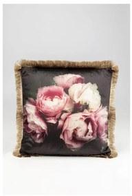 KARE DESIGN Sada 2 ks Dekoratívny vankúš Blush Roses 45x45 cm