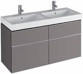 Umyvadlová skříňka KERAMAG ICON - šedá