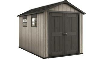 Záhradný domček Oakland 7511 hnedo-sivá / antracit 230391