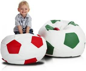 Praktický sedací vak - fotbalová lopta 180 L olše -- AL9