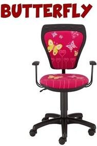 AL Detské stoličky k písaciemu stolu Butterfly