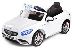 TOYZ Toyz Mercedes Elektrické autíčko Toyz Mercedes-Benz S63 AMG-2 motory white Biela |