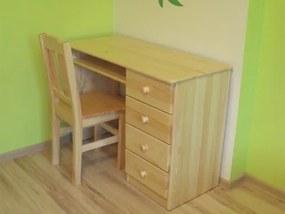 OVN Písací stôl PRYMUS  borovica