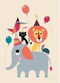 OMM Design Plagát 50x70 Animal Party od OMM Design
