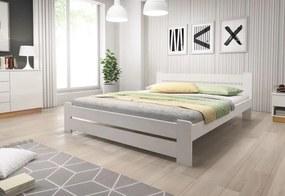 Posteľ HEUREKA + matrac + rošt, 120x200 cm, biela