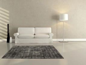 Obsession koberce Ručně tkaný kusový koberec MAORI 220 ANTHRACITE - 160x230 cm