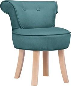 Tyrkysovomodrá detská stolička KICOTI Sweety