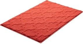 Kúpeľňová predložka Grund Nancy 90x60 cm červená SIKODGNAN607