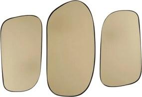 Set závěsných zrcadel Dritto, zlatá Stfh-PT3339GD Time for home+