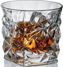 Bohemia Jihlava poháre na whisky Glacier 350 ML 6 KS