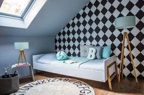 PROXIMA.store - Detská posteľ LOTTA - biela - 90x200