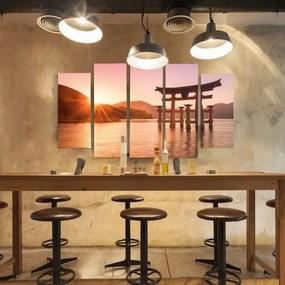 CARO Obraz na plátne - Landscape Of Japan 6 150x100 cm