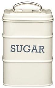 Krémová plechová dóza na cukor Kitchen Craft Nostalgia