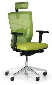 Kancelárska stolička DESIGNO, zelená