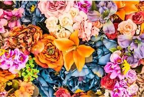 Dimex SK Fototapeta Vintage kvety 3 rôzne rozmery XL - š-375 x v-250 cm