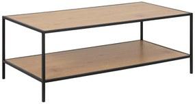 Dizajnový konferenčný stolík Naja 120 cm divý dub